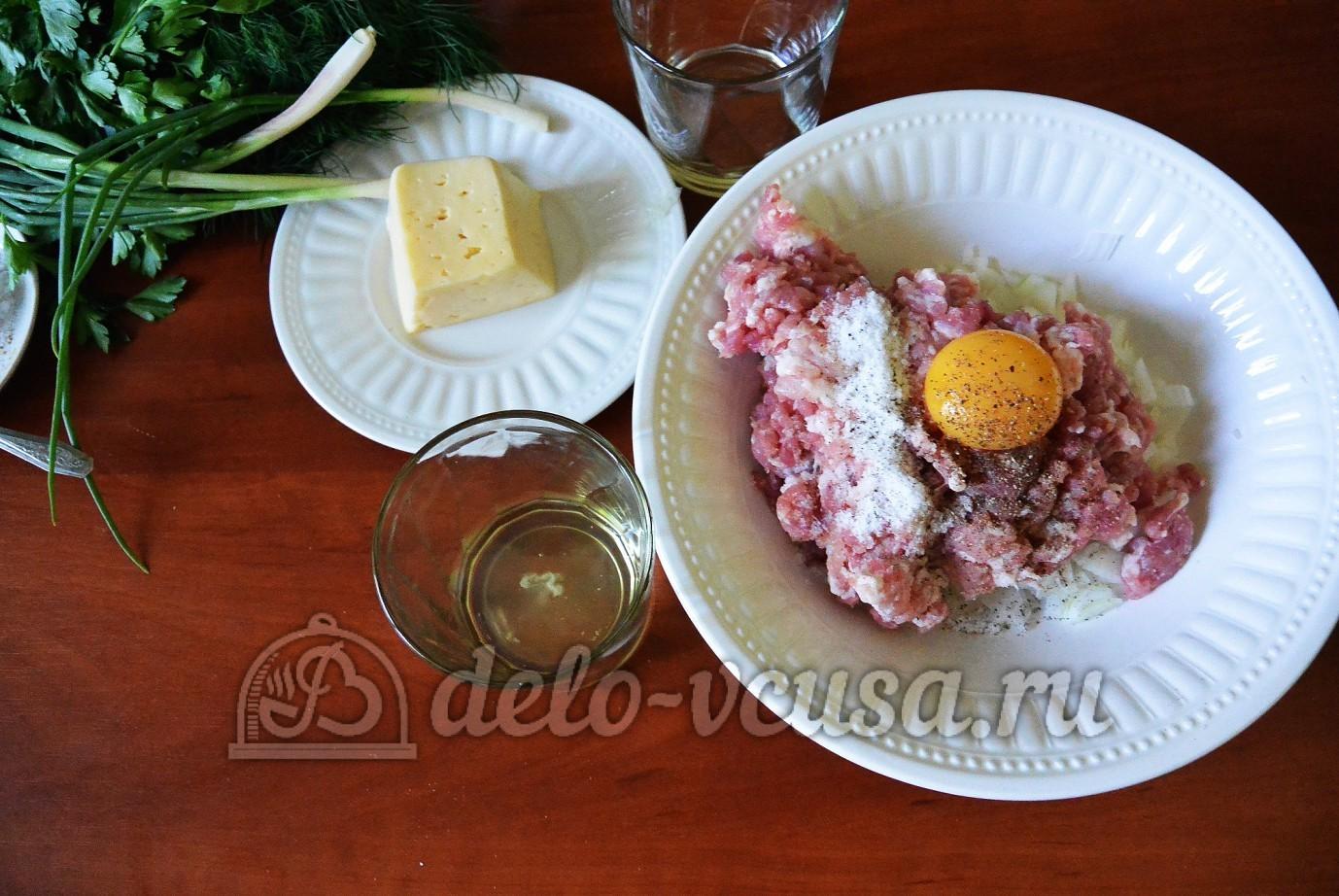 Фаршированная цветная капуста: Яйцо разделить на желток и белок