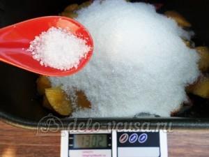 Варенье из нектаринов в хлебопечке: Добавить лимонную кислоту