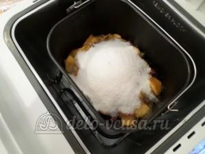 Варенье из нектаринов в хлебопечке: Установить чашу в хлебопечку