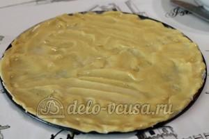 Медовый торт: Распределить тесто