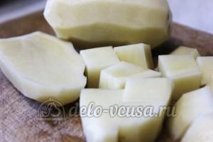 Мексиканский суп в мультиварке: Картошку порезать кубиками