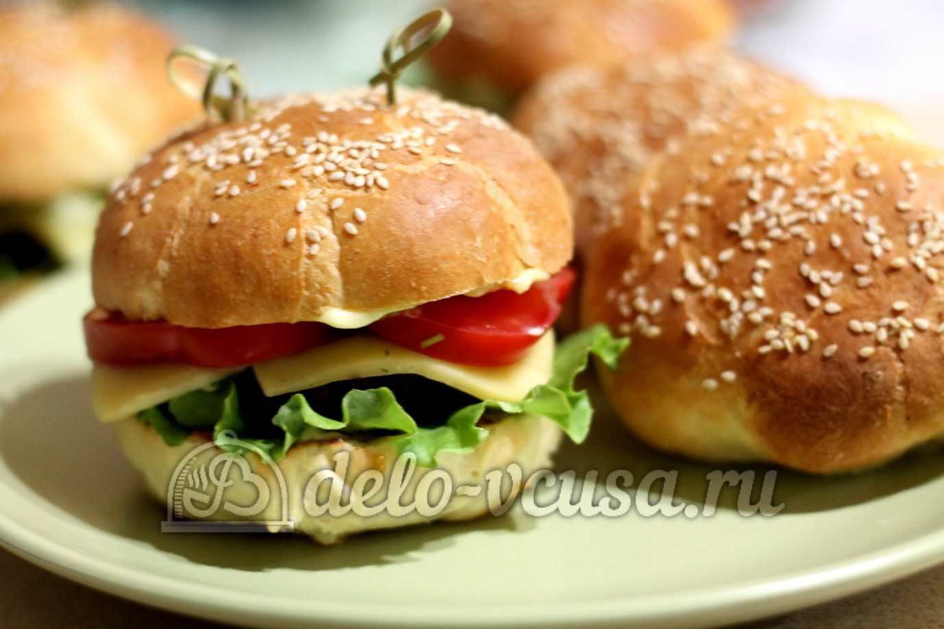 Как делать гамбургеры в домашних условиях