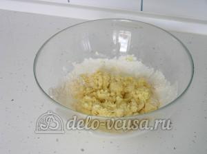 Творожное печенье: Замешиваем тесто