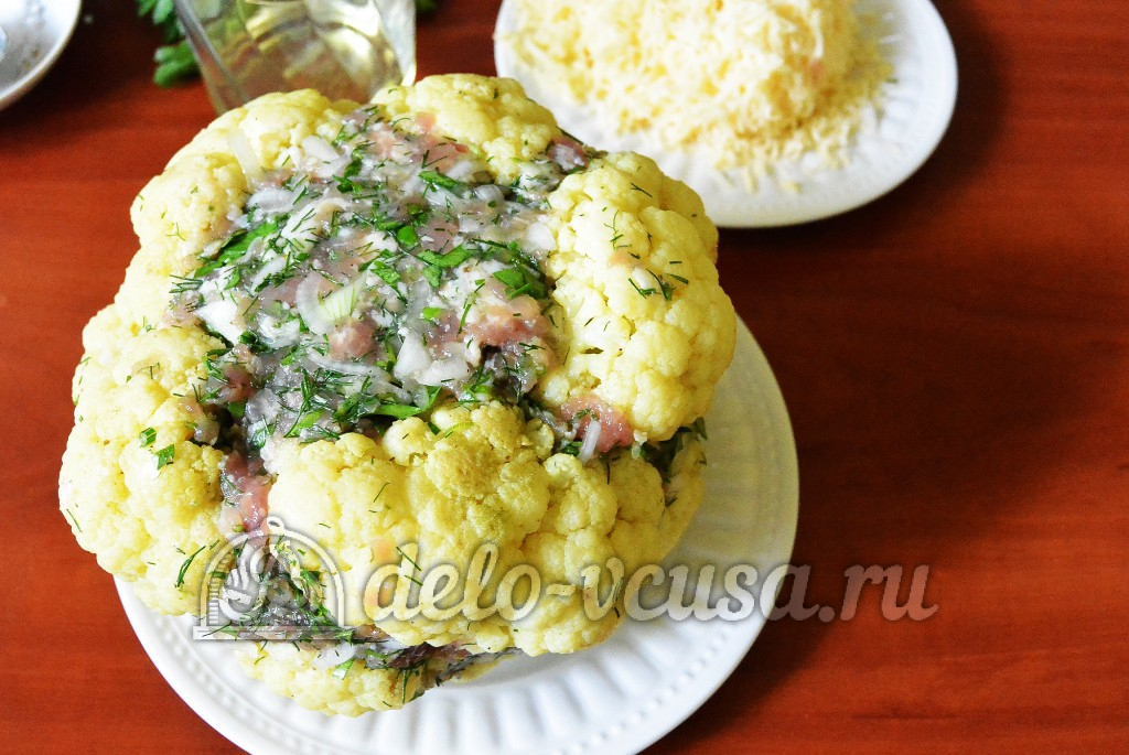 Фаршированный кочан капусты рецепт с фото
