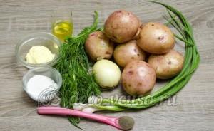 Молодая картошка с укропом: Ингредиенты