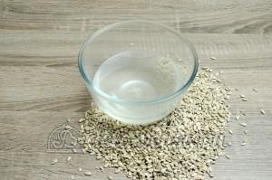 Жареные семечки подсолнуха: Соль растворить в воде