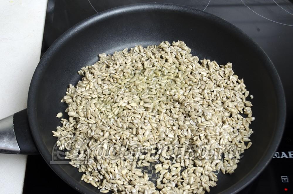 семечки подсолнуха в духовке рецепт