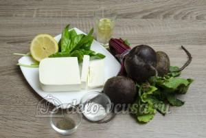 Салат свекла с сыром фета: Ингредиенты