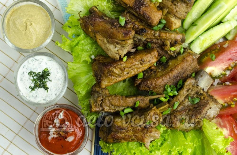Блюда из свиных ребрышек рецепты с фото