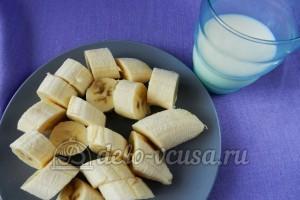 Банановый пирог: Подготовить бананы