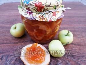 Варенье из яблок с апельсинами в хлебопечке: Разливаем варенье в банки