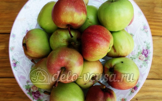 Сушка из яблок: Ингредиенты