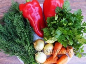 Овощная приправа: Ингредиенты