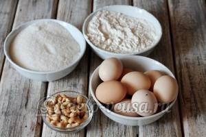 Киевский торт: Ингредиенты
