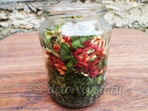 Овощная приправа: Храним приправу в стеклянной таре