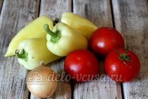 Перцы с томатной подливкой: Ингредиенты