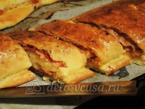 Стромболи: Выпекаем пиццу до готовности