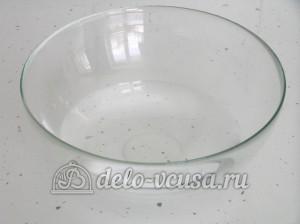 Пицца с тунцом: В отдельную емкость наливаем воду