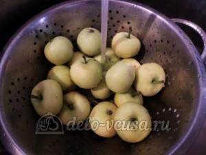 Варенье из яблок и слив в хлебопечке: Яблоки промыть и перебрать