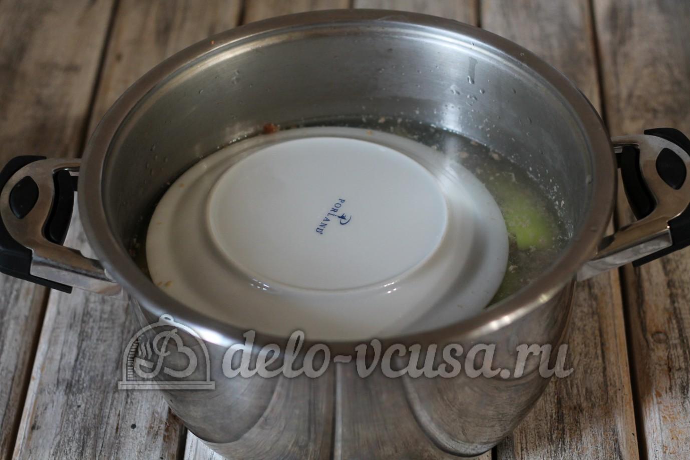 Фаршированные перцы с фаршем и рисом в кастрюле пошаговый