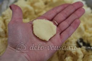 Курабье: Формируем печенье