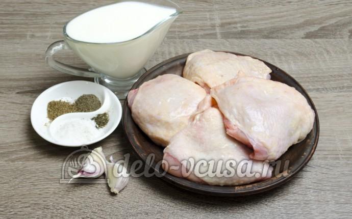 Курица в кефире: Ингредиенты