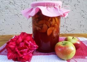 Варенье из яблок и слив в хлебопечке