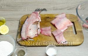Жареный карась: Подготовить рыбу