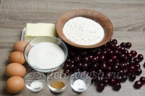 Пирог с вишней: Ингредиенты