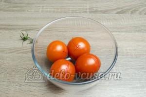 Икра из баклажанов: Остудить помидоры