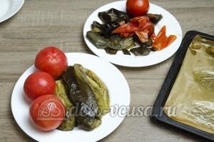 Икра из баклажанов: Очистить овощи