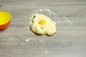 Пирог с черникой: Вводим еще один желток