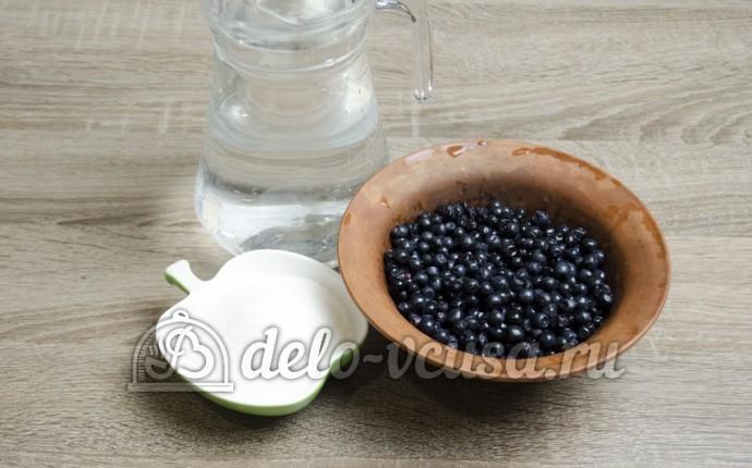 Компот из черники: Ингредиенты