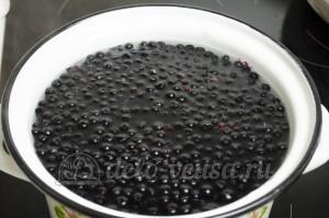 Компот из черники: Засыпаем ягоды