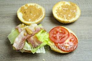 Гамбургер: Собираем бургер