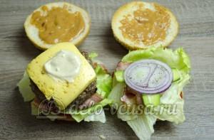 Гамбургер: Собираем гамбургер