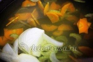 Суп из чечевицы в мультиварке: Из бульона вынуть лук
