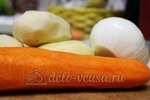 Суп из чечевицы в мультиварке: Ингредиенты