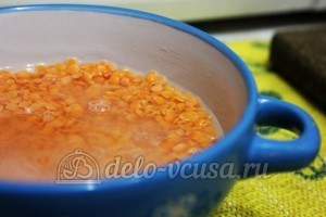 Суп из чечевицы в мультиварке: Чечевицу промыть