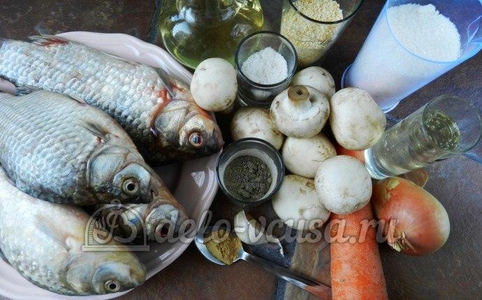 Рыба по-восточному: Ингредиенты