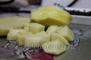Суп из чечевицы в мультиварке: Картошку нарезать кубиками
