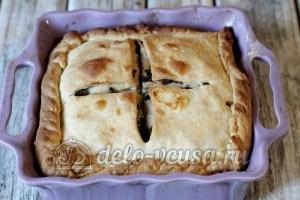 Пирог с ливером: Выпекаем пирог до готовности