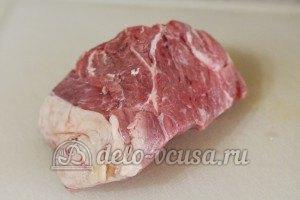 Бурма с мясом: Подготовить мясо