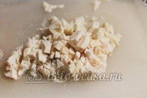 Печеночный паштет: Сало мелко порезать