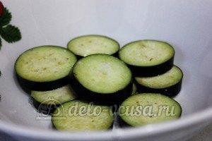 Удон с овощами: Баклажаны посолить