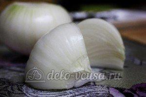 Суп из чечевицы в мультиварке: Порезать репчатый лук