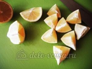 Пирог с лимоном: Подготовить лимоны