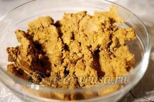 Печеночный паштет: Измельчить печень в паштет