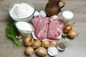 Сибирские пельмени: Ингредиенты