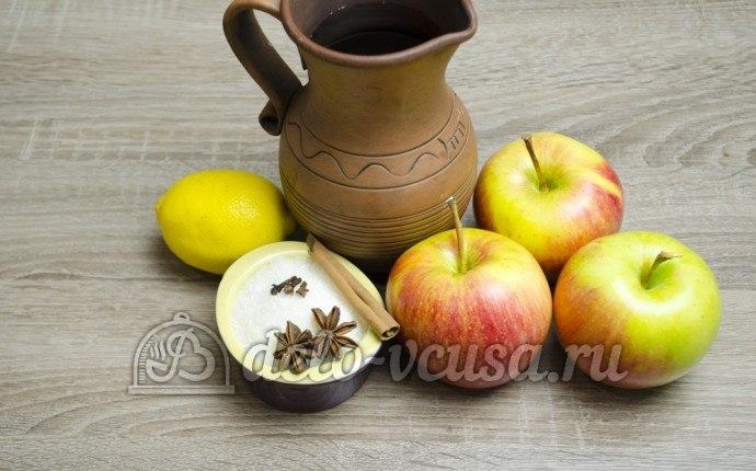 Яблоки в сиропе: Ингредиенты
